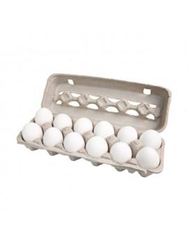 Docena de huevos blancos XL